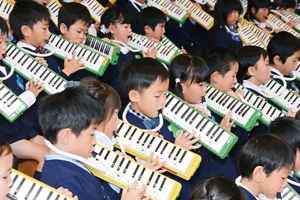 音楽リズム指導